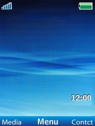 Sony Ericsson W100i Spiro - Mms - Handmatig instellen - Stap 1
