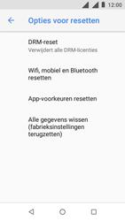 Nokia 1 - Toestel reset - terugzetten naar fabrieksinstellingen - Stap 6