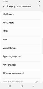 Samsung Galaxy S9 Android Pie - MMS - handmatig instellen - Stap 12