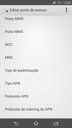 Sony Xperia E4G - Internet (APN) - Como configurar a internet do seu aparelho (APN Nextel) - Etapa 13