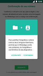 Nokia 3 - Aplicações - Como configurar o WhatsApp -  6