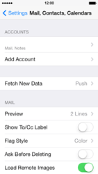 Apple iPhone 5s - E-mail - Manual configuration - Step 17