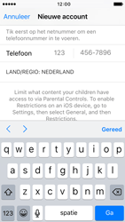 Apple iPhone 5c iOS 9 - Applicaties - Account aanmaken - Stap 22