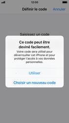 Apple iPhone SE - iOS 11 - Sécuriser votre mobile - Activer le code de verrouillage - Étape 6
