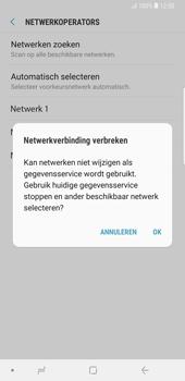 Samsung galaxy-note-9-sm-n960f - Netwerk selecteren - Handmatig een netwerk selecteren - Stap 12