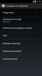 Blackphone Blackphone 4G (BP1) - Internet - Uitzetten - Stap 5