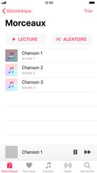 Apple iPhone 8 - Photos, vidéos, musique - Ecouter de la musique - Étape 5