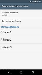 Sony Xperia X Performance (F8131) - Réseau - Sélection manuelle du réseau - Étape 10