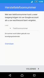 Sony Xperia Z5 Compact (E5823) - Applicaties - Account aanmaken - Stap 11