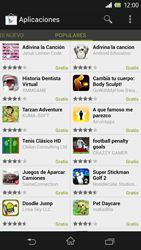 Sony Xperia Z - Aplicaciones - Descargar aplicaciones - Paso 12