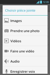 LG E610 Optimus L5 - E-mail - Envoi d