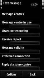 Nokia 500 - SMS - Manual configuration - Step 9