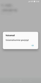 LG V30 (LG-H930) - Voicemail - Handmatig instellen - Stap 9