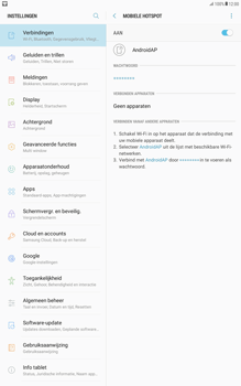 Samsung Galaxy Tab A 10.1 - Android Nougat - WiFi - Mobiele hotspot instellen - Stap 11