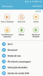 Samsung Galaxy J5 (2016) DualSim (J510) - Internet no telemóvel - Como ativar os dados móveis -  4