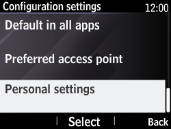 Nokia Asha 210 - MMS - Manual configuration - Step 5