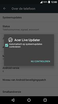 Acer Liquid Zest 4G Plus - Toestel - Software update - Stap 7