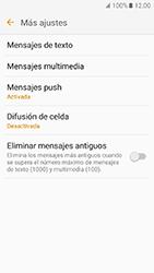 Samsung Galaxy J5 (2016) - Mensajería - Configurar el equipo para mensajes de texto - Paso 7