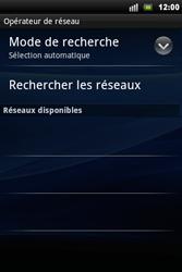 Sony Ericsson Xperia Mini Pro - Réseau - utilisation à l'étranger - Étape 10