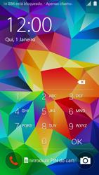 Samsung Galaxy S5 - Primeiros passos - Como ligar o telemóvel pela primeira vez -  3