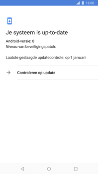 Nokia 8 Sirocco - Software updaten - Update installeren - Stap 6