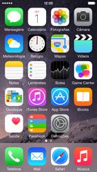 Apple iPhone 5s iOS 8 - Aplicações - Como pesquisar e instalar aplicações -  2