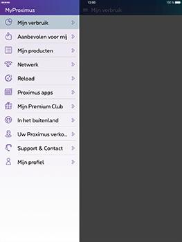 Apple iPad Pro 9.7 - iOS 10 - Applicaties - MyProximus - Stap 25