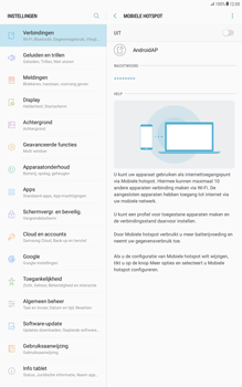 Samsung Galaxy Tab A 10.1 - Android Nougat - WiFi - Mobiele hotspot instellen - Stap 10