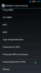 Wiko Stairway - Internet - Configuration manuelle - Étape 17