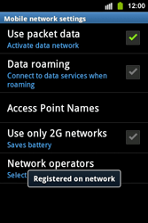 Samsung S5830i Galaxy Ace i - Network - Usage across the border - Step 10