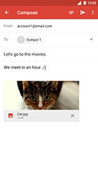 Nokia 8 - Email - Sending an email message - Step 15