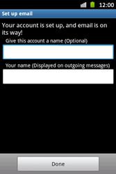 Samsung S6500D Galaxy Mini 2 - E-mail - Manual configuration - Step 15