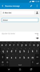 HTC Desire 816 - Contact, Appels, SMS/MMS - Envoyer un MMS - Étape 12