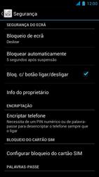 Wiko Darkmoon - Segurança - Como ativar o código PIN do cartão de telemóvel -  5
