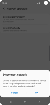 Samsung Galaxy S10 - Network - Manually select a network - Step 8