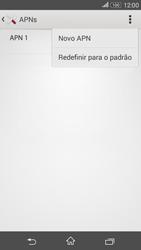 Sony Xperia E4G - Internet (APN) - Como configurar a internet do seu aparelho (APN Nextel) - Etapa 9