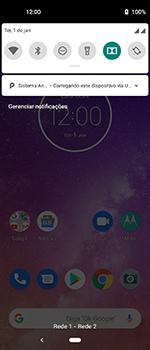 Motorola One Vision - Conexão com pc - Transferir dados do telefone para o computador (Windows) - Etapa 3