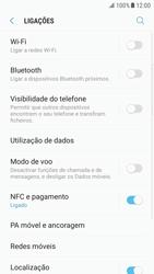 Samsung Galaxy S6 Edge - Android Nougat - Internet no telemóvel - Como ativar os dados móveis -  5
