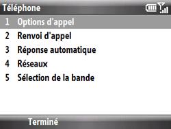 HTC S521 Snap - SMS - Configuration manuelle - Étape 6