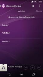 Sony Xperia Z3 Compact - Photos, vidéos, musique - Ecouter de la musique - Étape 5