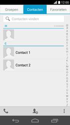 Huawei Ascend P6 (Model P6-U06) - Contacten en data - Contacten overzetten via Bluetooth - Stap 3