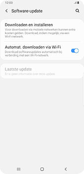Samsung galaxy-s9-plus-sm-g965f-android-pie - Software updaten - Update installeren - Stap 5