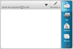 HTC A810e ChaCha - E-mail - envoyer un e-mail - Étape 3