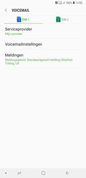 Samsung Galaxy A7 (2018) - Voicemail - handmatig instellen - Stap 9