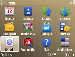 Nokia E72 - E-mail - Configuration manuelle - Étape 3