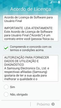 Samsung N910F Galaxy Note 4 - Primeiros passos - Como ativar seu aparelho - Etapa 8
