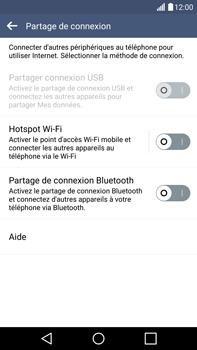 LG G4 - Internet et connexion - Partager votre connexion en Wi-Fi - Étape 5