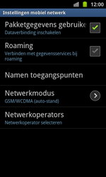 Samsung I8530 Galaxy Beam - Internet - handmatig instellen - Stap 7