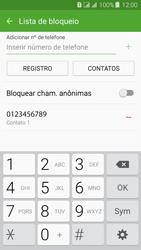 Samsung Galaxy J3 Duos - Chamadas - Como bloquear chamadas de um número específico - Etapa 12