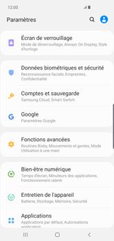 Samsung Galaxy S10 Plus - Sécurité - modifier SIM PIN - Étape 4